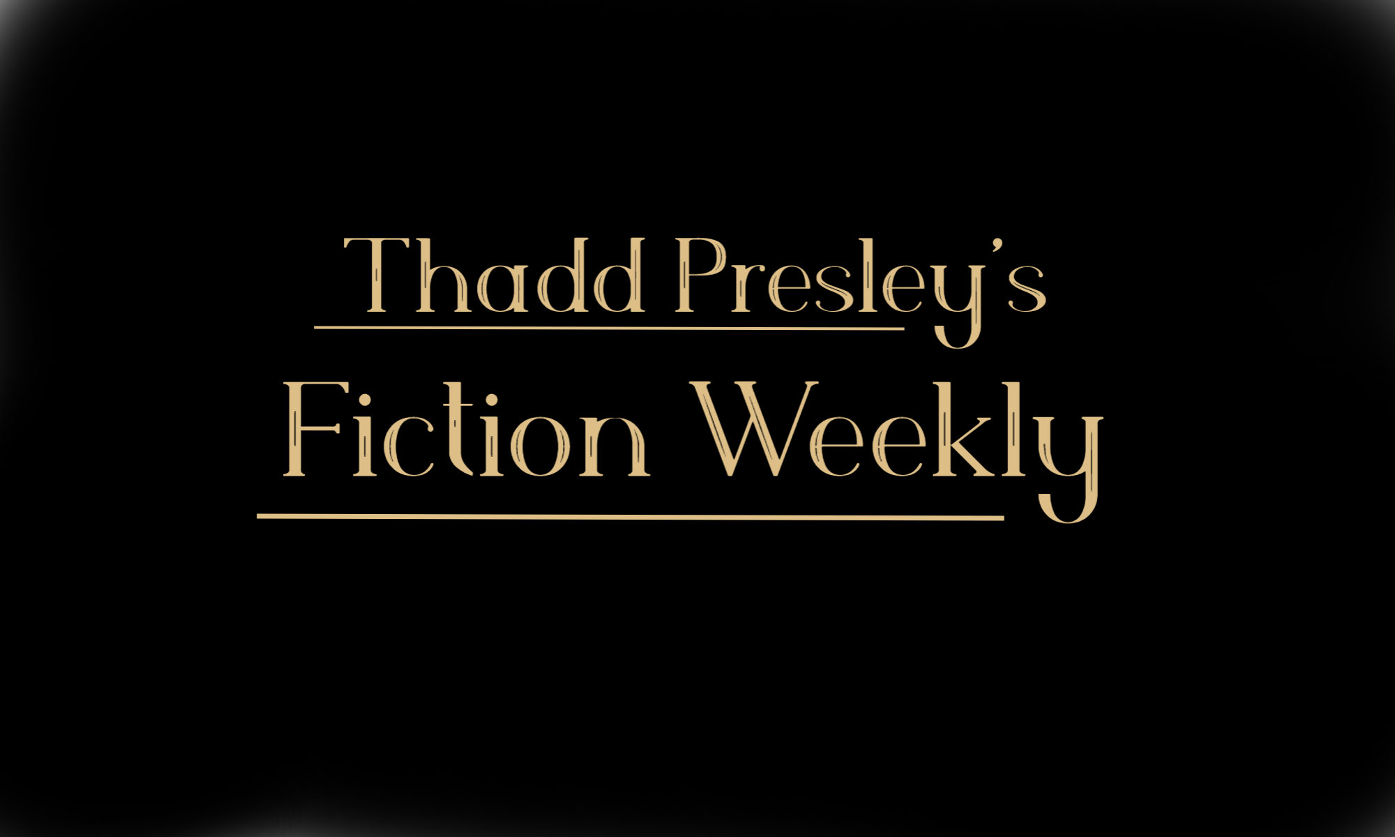 Fiction Weekly